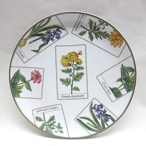 Tiffany Salad Dessert Plate Botanical